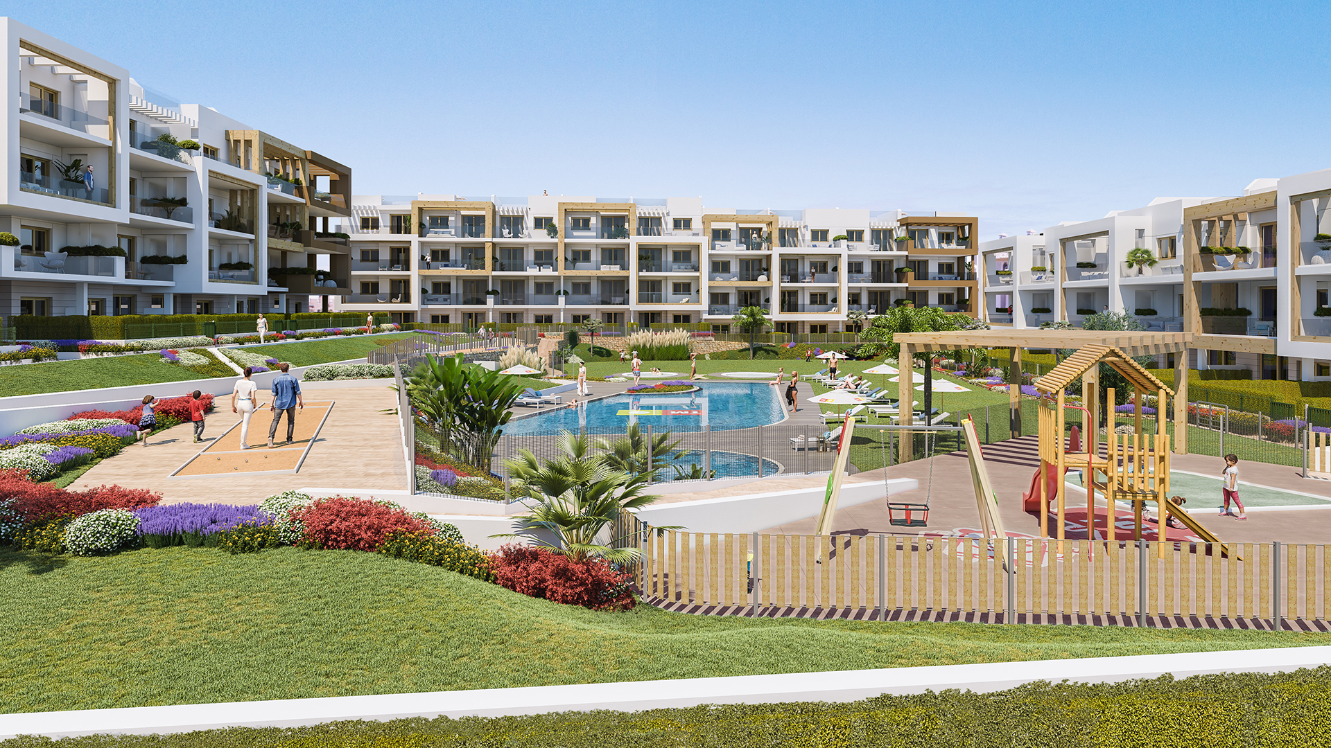 residencial gala overview